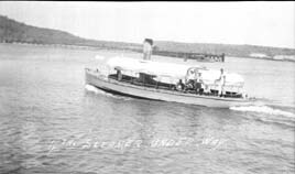 4th Steamer Underway, Guantanamo Bay, Cuba, 1915