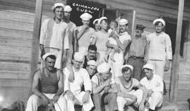 Sailors, Caimanera, Cuba, 1915