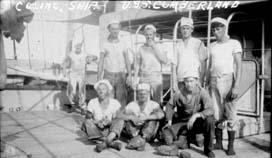 USS Cumberland Coaling Ship