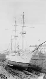 USS Cumberland, Dry Dock, Drydock, October 10, 1914