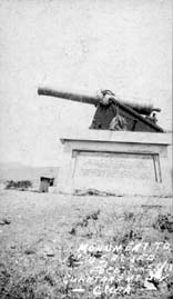Monument to 1st US Armed Force, June 10, 1898, Guantanamo, Cuba, 1915