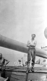 Harry A Franklin, USS Cumberland, Guantanamo Bay, Cuba, 1915