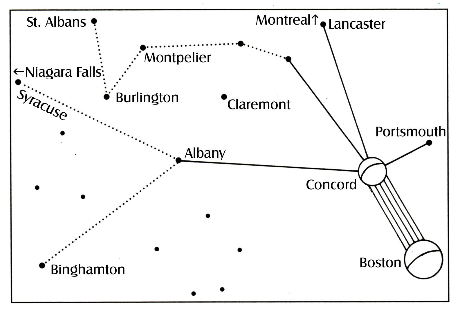 A Different Perspective Betty Hill S Star Map